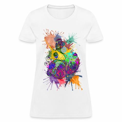 Crazy Colors - Women's T-Shirt