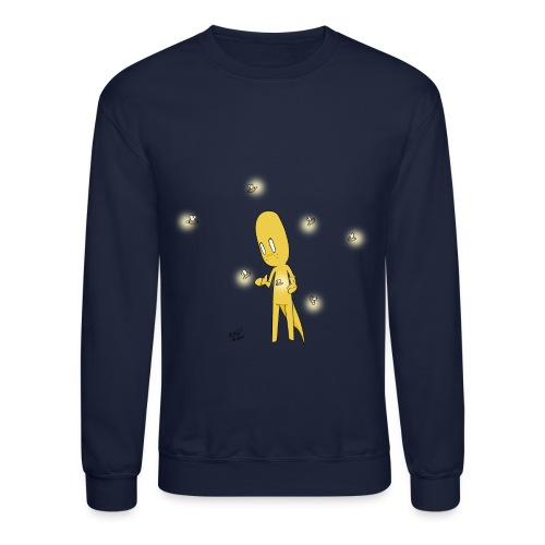 Fireflies Sweatshirt - Crewneck Sweatshirt