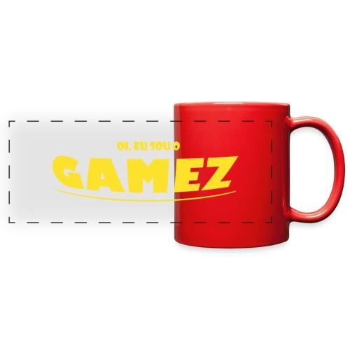 Oi, Eu sou o Gamez (Caneca) - Full Color Panoramic Mug