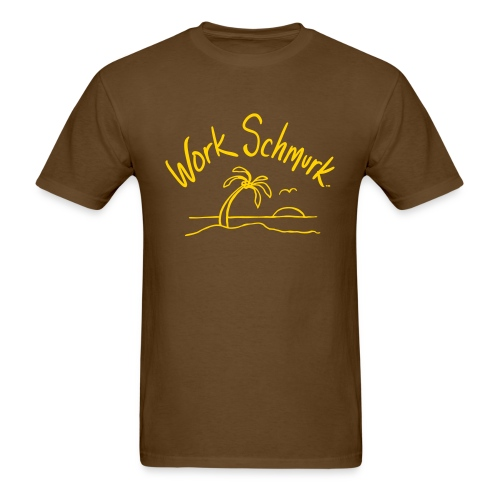 Work Schmurk™ Beach - Men's T-Shirt