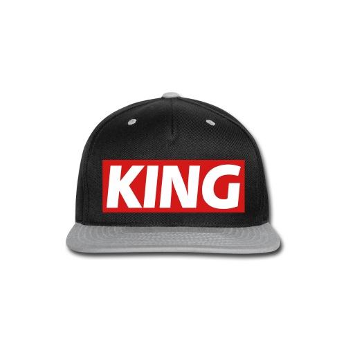 KING SNAPBACK HAT - Snap-back Baseball Cap