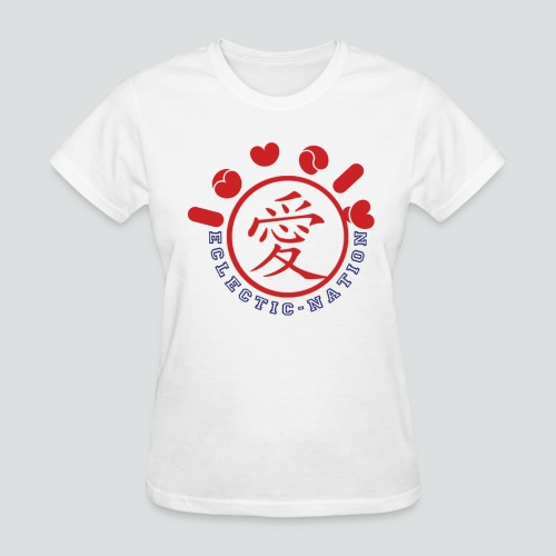 Lovely Tee White/Red - Women's T-Shirt