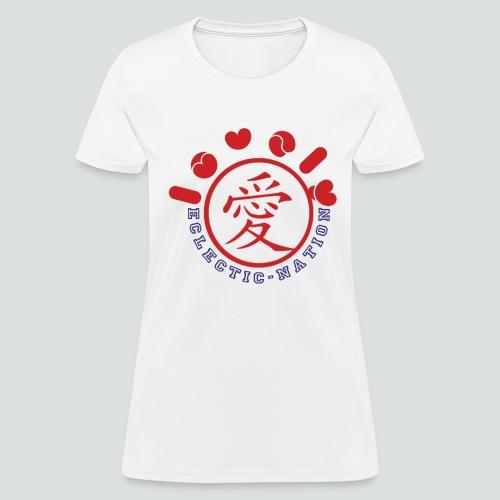 Lovely Tee White/Red - Women's T-Shirt