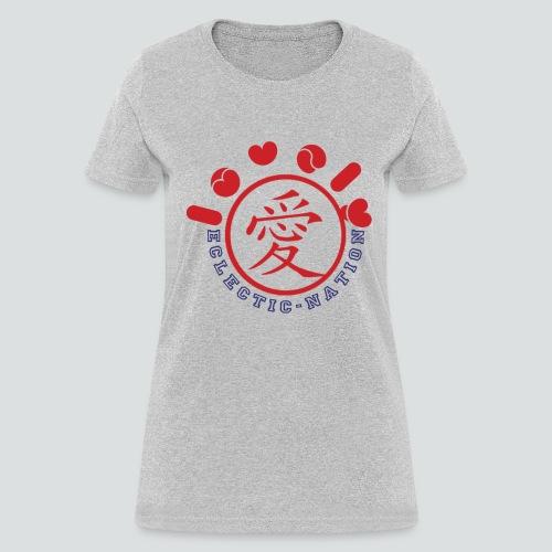 Lovely Tee Heather Grey - Women's T-Shirt