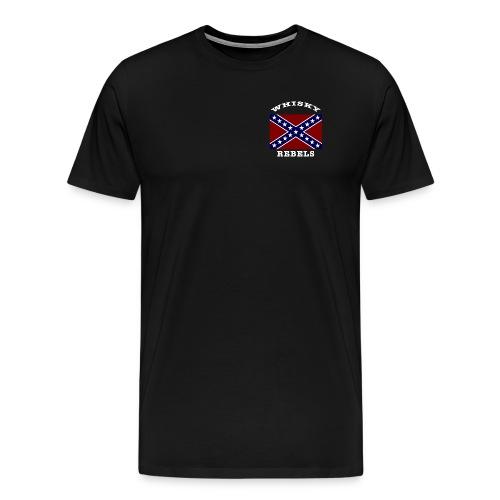 Whisky Rebels Member Tee - Men's Premium T-Shirt