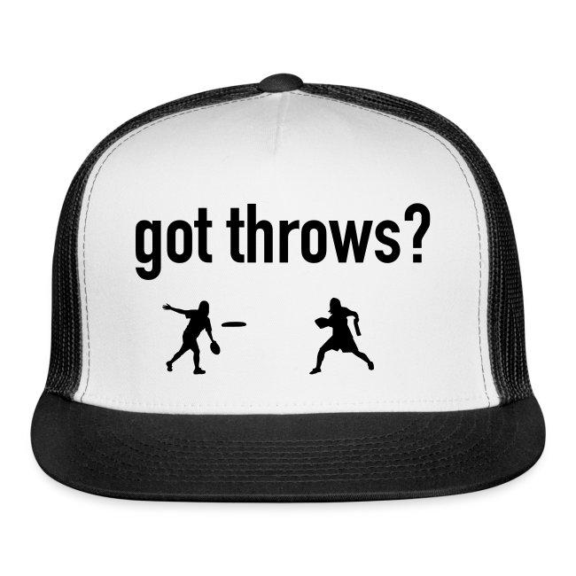 Got Throws? Hat