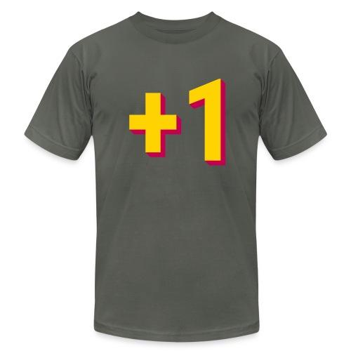 +1 Tee (Mens) - Men's Fine Jersey T-Shirt