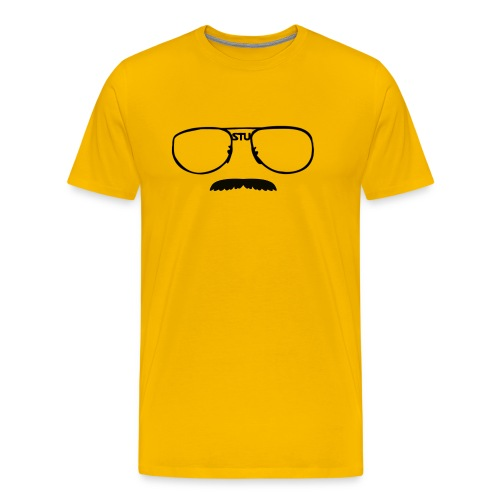 Stu Glasses (mens) - Men's Premium T-Shirt