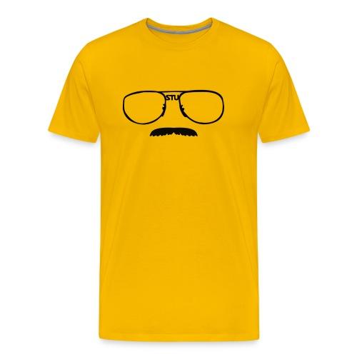 Stu Glasses (mens) - Men's Premium T-Shirt