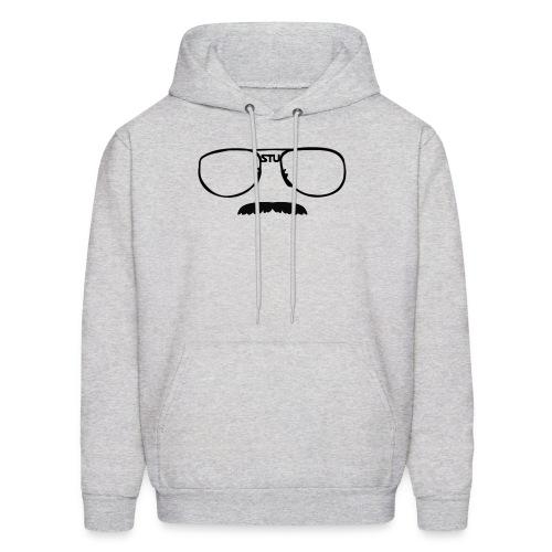 Stu Glasses (mens) - Men's Hoodie