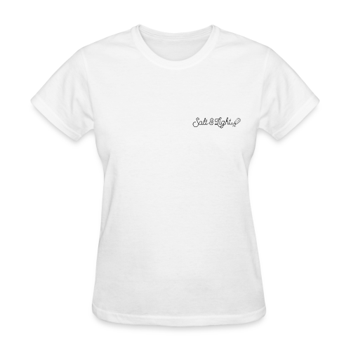 Salt Light (Light & Shaker) - Women's T-Shirt