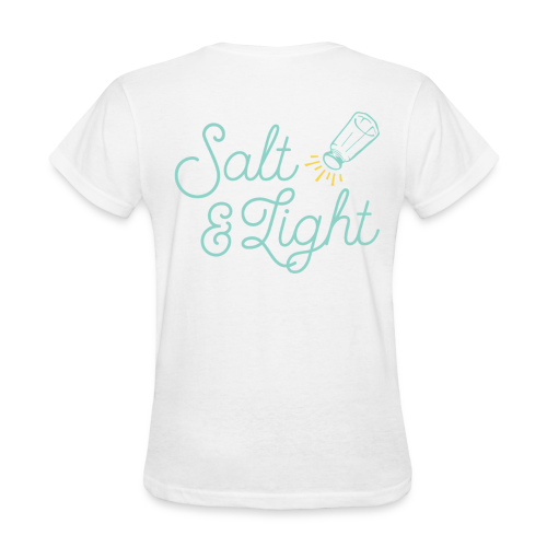 Salt Light (Teal) - Women's T-Shirt