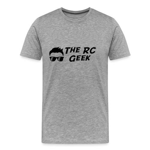 TRCG Logo, Black Text - Men's Premium T-Shirt
