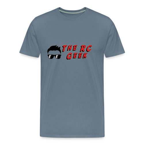 TRCG Logo, Red Text - Men's Premium T-Shirt