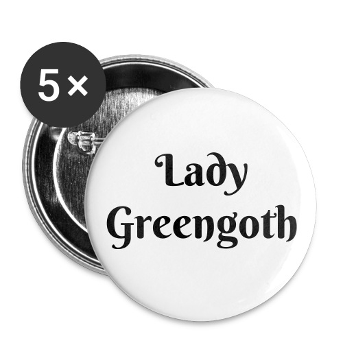 Lady Greengoth button - Small Buttons