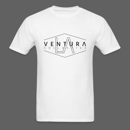 White Signature Tee - Men's T-Shirt