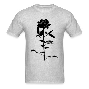 black rose men's tshirt - Men's T-Shirt