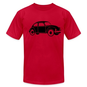 Beetle Car Men's Tshirt - Men's T-Shirt by American Apparel