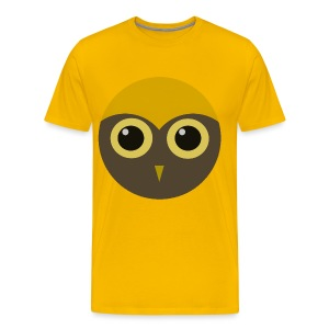 Men's Huge Hoot Shirt - Men's Premium T-Shirt