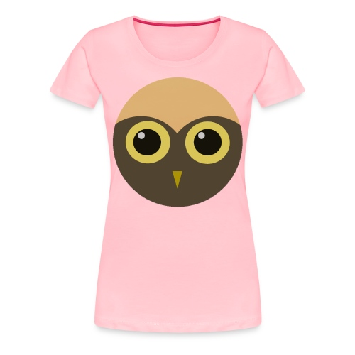 Ladies' Huge Hoot Shirt - Women's Premium T-Shirt
