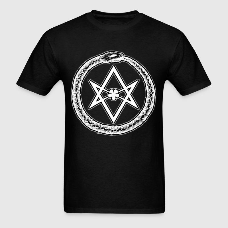 OUROBOROS & HEXAGRAM - Men's T-Shirt
