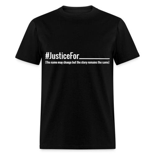 No Justice T Shirt Men's Tee - Men's T-Shirt