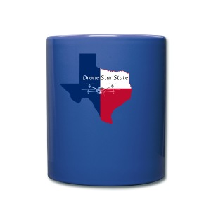 Drone Star State Coffee Cup - Full Color Mug