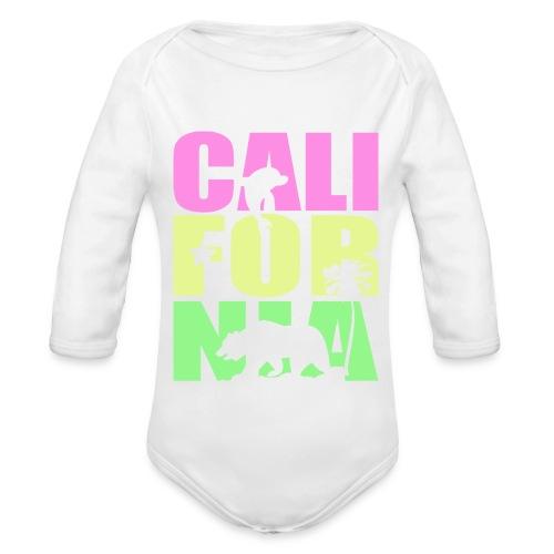 carlifornia baby - Organic Long Sleeve Baby Bodysuit
