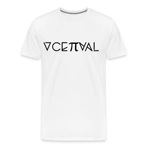 Conceptual Magazine Logo Tee - Men's - Men's Premium T-Shirt