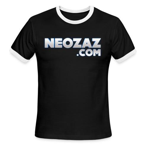 NEOZAZ.com Logo Ringer T-Shirt - Men's Ringer T-Shirt