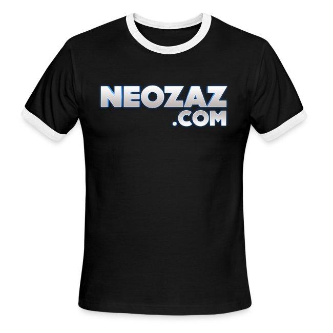 NEOZAZ.com Logo Ringer T-Shirt