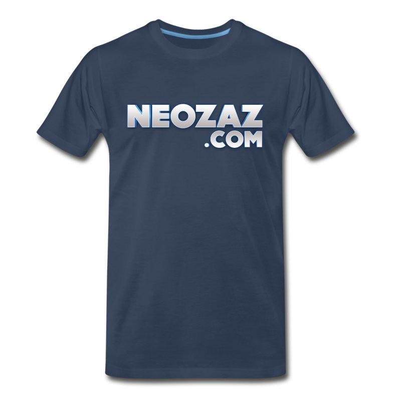 NEOZAZ.com Logo Premium T-Shirt - Men's Premium T-Shirt