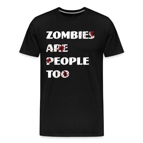 #ZombieLivesMatter Men's - Men's Premium T-Shirt