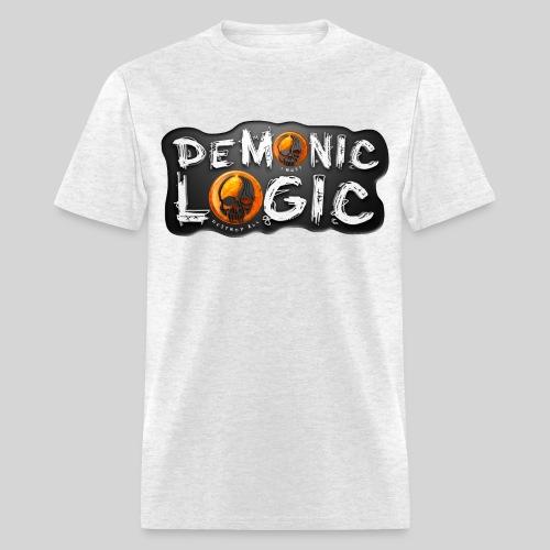 Demonic Logic [Black Logo] - Men's T-Shirt