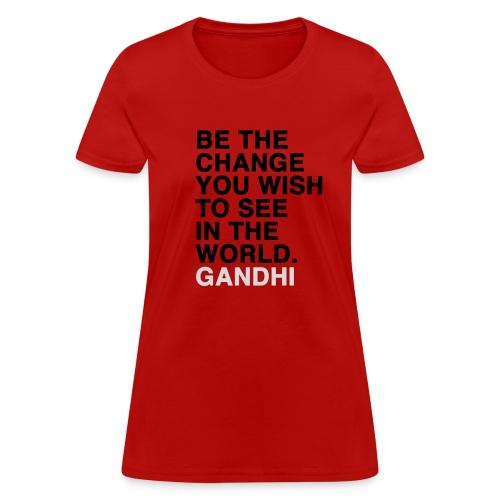 Be the change tee - Women's T-Shirt