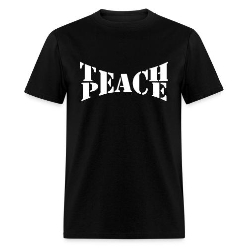 Teach peace men's tee - Men's T-Shirt