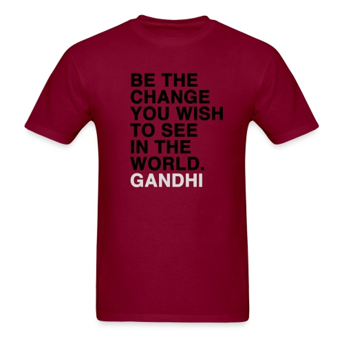 Be the change men's tee - Men's T-Shirt