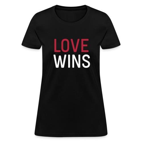 Love wins tee - Women's T-Shirt