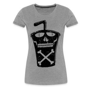 Soda cup fast food drink - Women's Premium T-Shirt