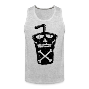 Soda cup fast food drink - Men's Premium Tank