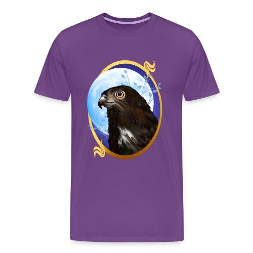 Black-chested snake eagle  - Men's Premium T-Shirt