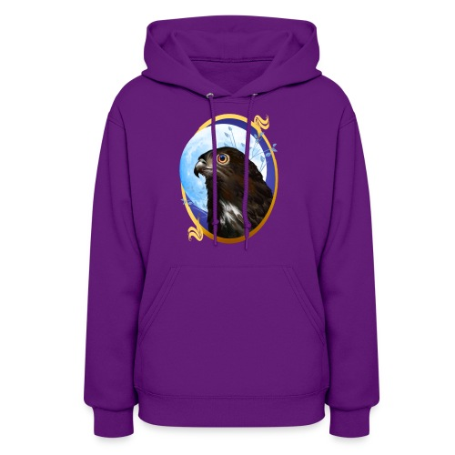 Black-chested snake eagle  - Women's Hoodie