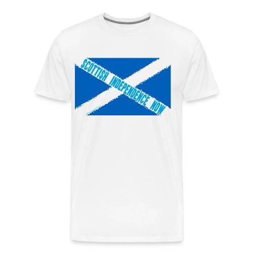 Scottish Independence Now - Men's Premium T-Shirt