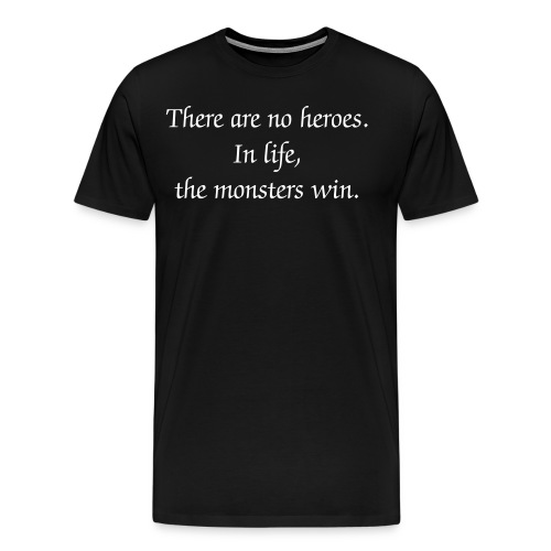 Heroes and Monsters - Men's Premium T-Shirt