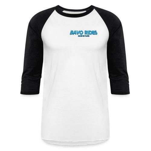 bavo rides fan shirt met banner man - Baseball T-Shirt