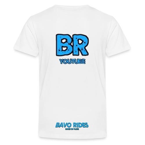 bavo rides shirt kids banner - Kids' Premium T-Shirt