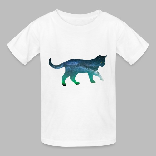 Childrens T-Shirt: Aurora Cat - Kids' T-Shirt