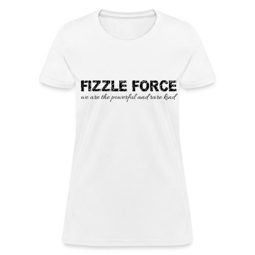 Fizzle Force 3 Black - Women's T-Shirt
