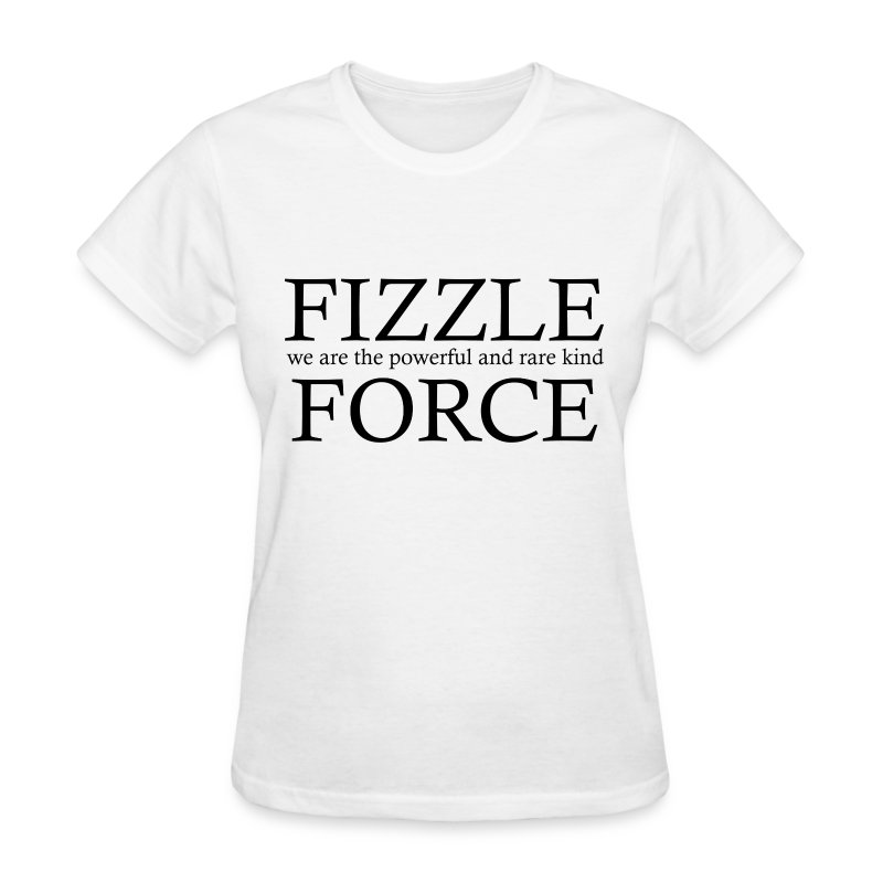 Fizzle Force 4 Black - Women's T-Shirt