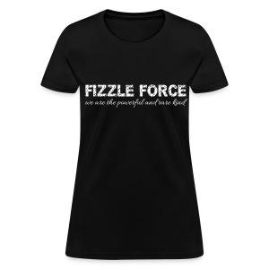 Fizzle Force 3 White - Women's T-Shirt
